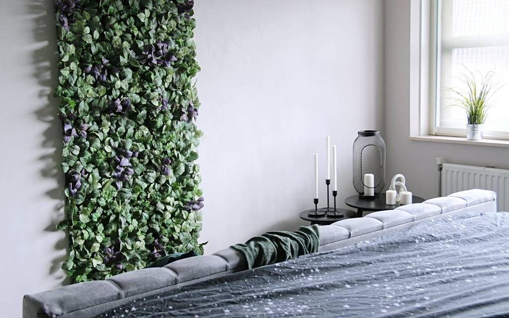 Kunstig plantevæg inspiration